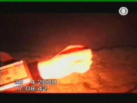Le fond du blue hole de dahab  Egypte vu par un rov israelien