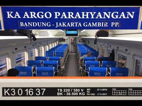 Trip By Train - Argo Parahyangan Ada Kelas Ekonominya Lho