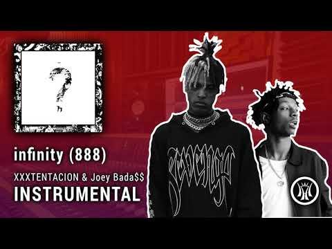 XXXTENTACION ft. Joey Bada$$ - infinity (888) INSTRUMENTAL (prod. P. Soul on the track)