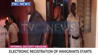 Electronic registration of immigrants starts in Nigeria
