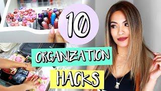 10 Organization Hacks That Will Save Your Life! | Belinda Selene