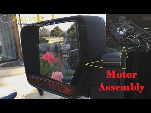 Replace Left Driver Flat Mirror Glass Assembly & Motor on 07-12 Lincoln Navigator | 07-11 Expedition