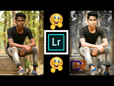 Lightroom White glow face and Background color change effect Tutorial 2018 || DEEPRAJCREATIONS