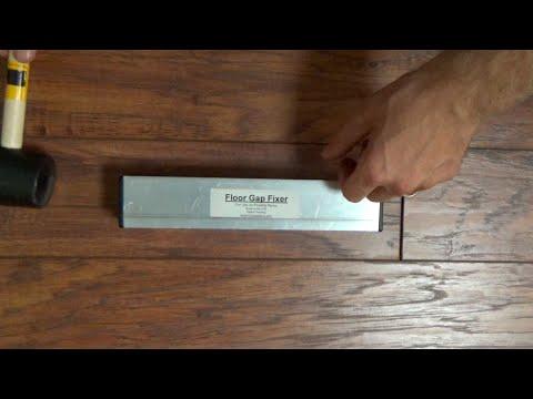 Fix End Gaps In Laminate/Floating Floors - Floor Gap Fixer