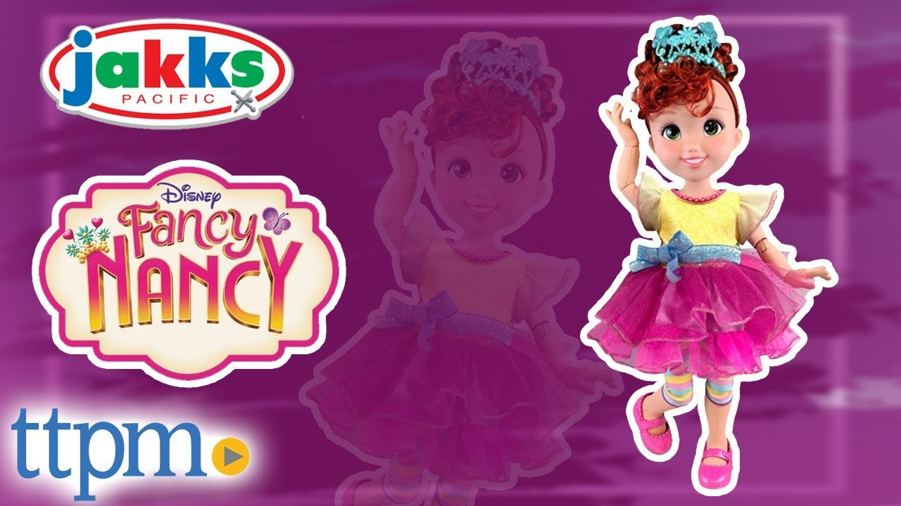 96f243087e7 Shall We Be Fancy Talking Fancy Nancy Doll from Jakks Pacific - YouTube