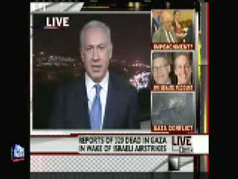 "Operation ""Cast Lead"": Benjamin Netanyahu (former prime minister of Israel) interview"