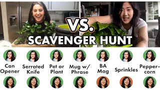 Pro Chefs Go on a Scavenger Hunt (One-on-One) | Test Kitchen Talks @ Home | Bon Appétit