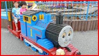 子供とお出かけ おもちゃ王国 に行きました♪ 遊園地 夏休み Kids Playing at Toy Amusement Park