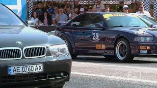 BMW 7 series E65 vs. BMW E36 Turbo 800 HP