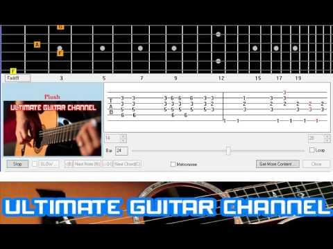 Guitar Solo Tab Plush Stone Temple Pilots Youtube