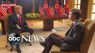 Trump says Kim Jong Un's country loves him