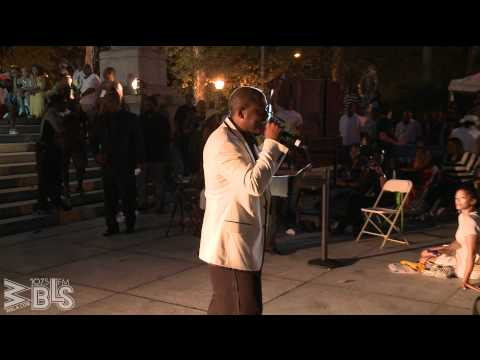 """Johnny Gill performs In The Mood at """"A Great Day In Harlem"""""""