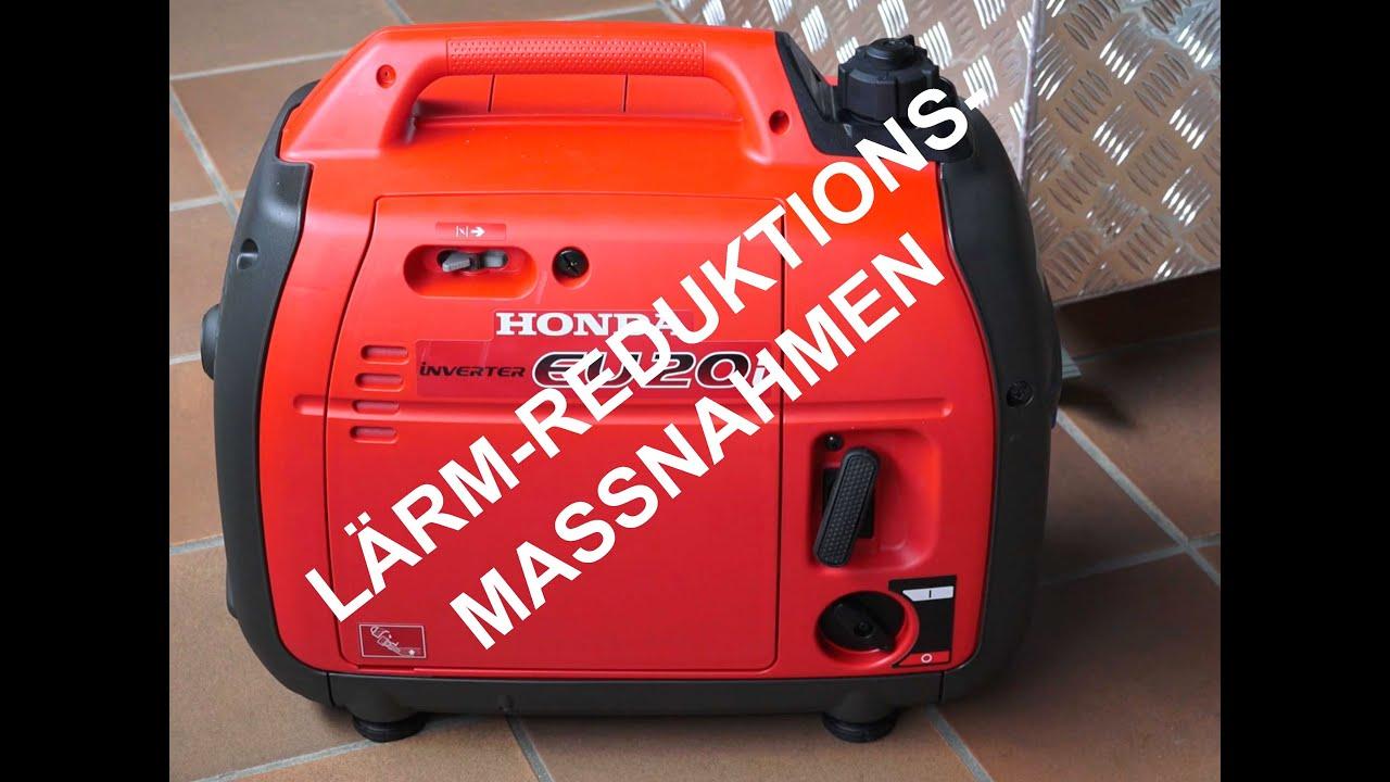 Berühmt Honda Generator Lärmschutz - YouTube #VH_69