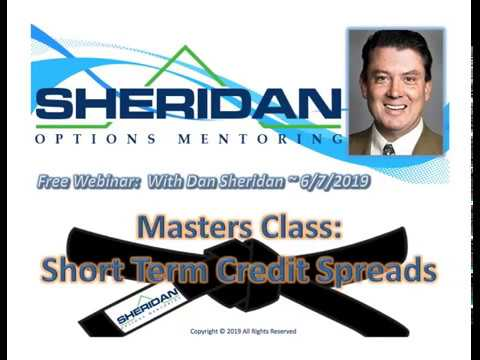 Free Webinar: Mastering Short Term Credit Spreads