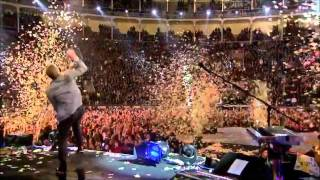 In My Place   Coldplay Unstaged show in Madrid 2011
