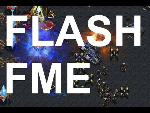Fastest Map - 3v3 Featuring Flash! On Space - StarCraft - Brood War REMASTERED