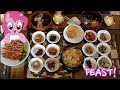 Mukbang : 13 Korean Side Dishes | Eat With Us