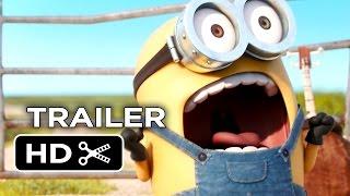Minions TRAILER 2 (2015) - Animated Sequel HD