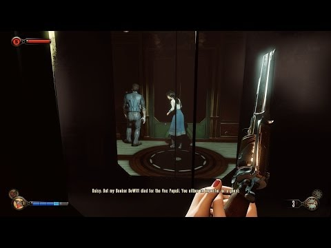 """BioShock Infinite Burial At Sea Episode 2 Elizabeth """"Booker you there? I miss you"""""""