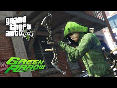 GTA 5 Mods - ULTIMATE ARROW MOD!! GTA 5 Green Arrow Mod Gameplay! (GTA 5 Mods Gameplay)