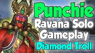 Smite: Punchie- Ravana Solo Gameplay