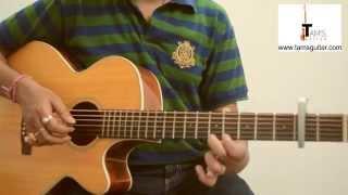 Mora Saiyaan (Fuzon) intro guitar lesson/tutorial (www.tamsguitar.com)