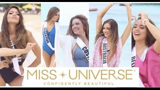 Miss Universe 2017: SWIMSUIT Video with the Candidates - 65th Miss Universe (FULL VIDEO)