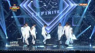 Video [1080HD]130724 INFINITE-Inception+Destiny @ Show Champion download MP3, 3GP, MP4, WEBM, AVI, FLV Mei 2018