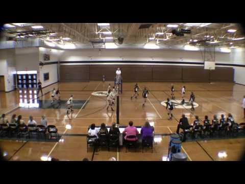 McCants Middle School Vollyball 2016-10-03 McCants vs Glenveiw