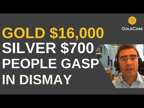 Focus On Gold's Safe Haven Value, Not Gold $16,000 and Silver $700 Prices !