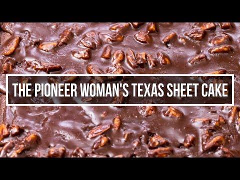 How To Make The Pioneer Woman's Texas Sheet Cake