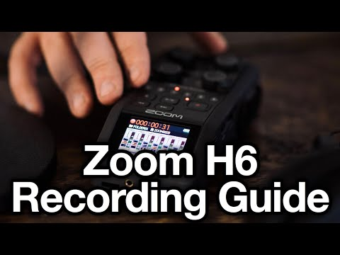 NEW Zoom H6 Complete podcast setup tutorial