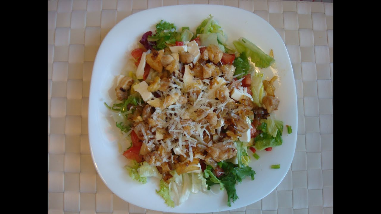 ensalada de pollo a la plancha baja en calor as deliciosa toniococina 51 youtube. Black Bedroom Furniture Sets. Home Design Ideas