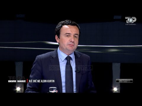 """""""NJË ORË ME ALBIN KURTIN"""" - Kreu i Vetëvendosjes: Ja si bashkohet Shqipëria me Kosovën!"""
