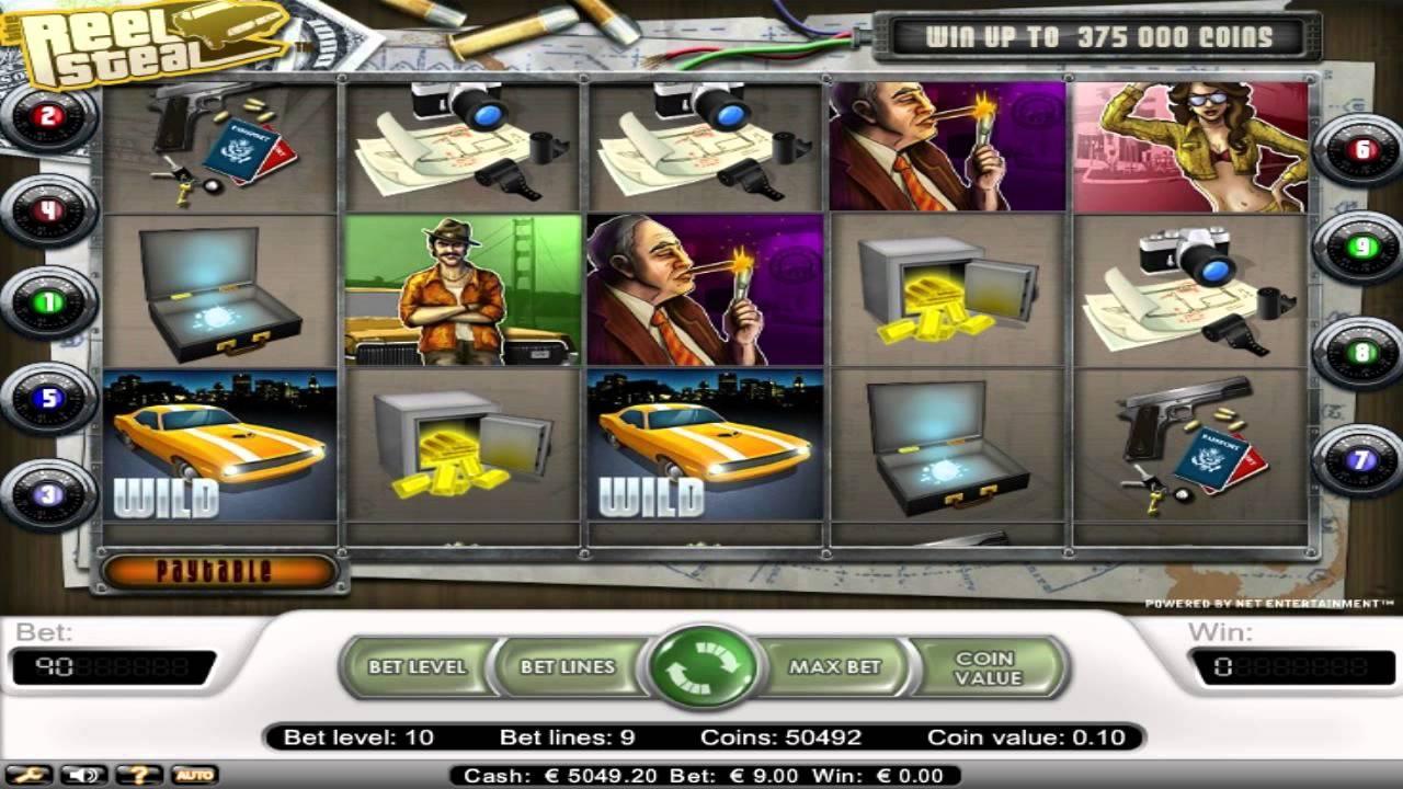 Spiele The Reel Steal - Video Slots Online
