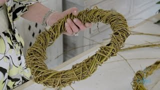 Flowers & Floristry Tutorial: How to make a Willow Wreath