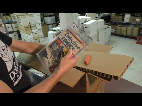 Unboxing Golden Age CGC, Vintage Comic Book Key Issues! | SellMyComicBooks.com