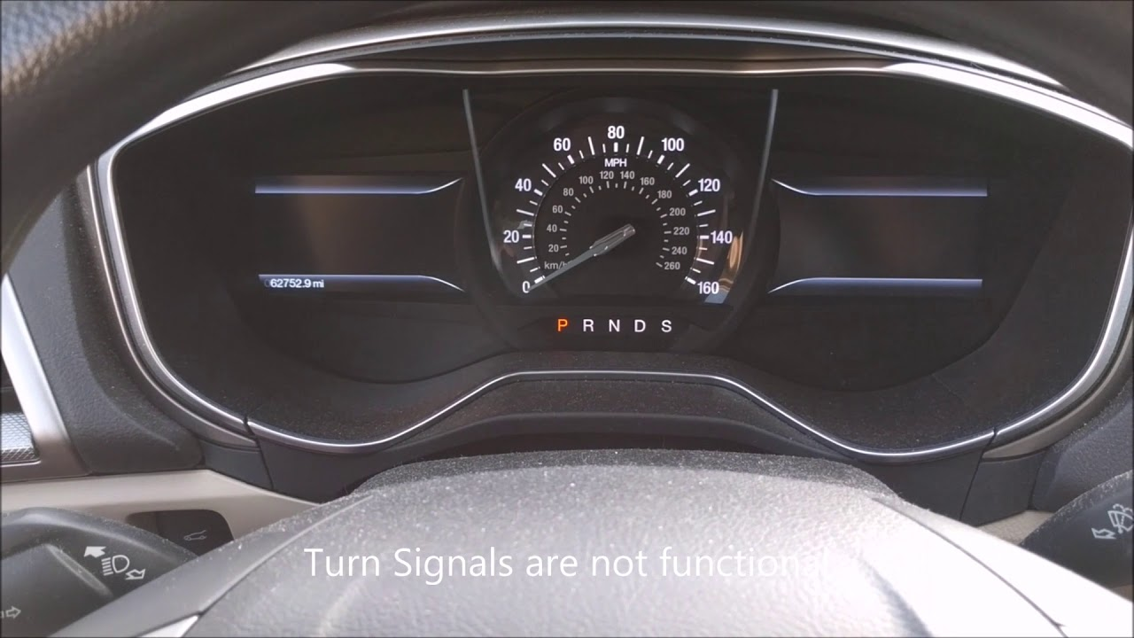 2017 Ford Fusion Electrical Problems
