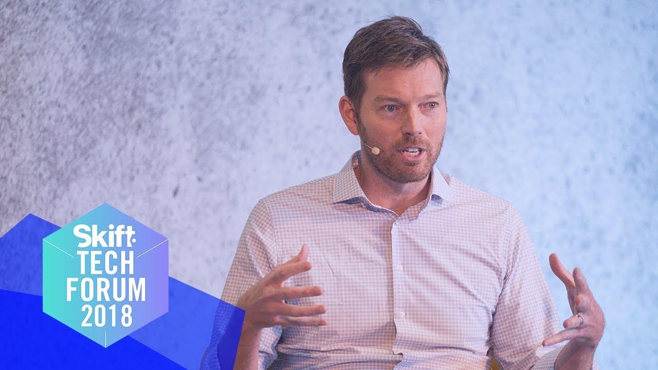 Uber Eats Boss at Skift Tech Forum 2018