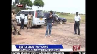 China executes two Ugandans convicted of drug trafficking