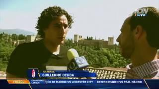 Mano a Mano con Guillermo Ochoa