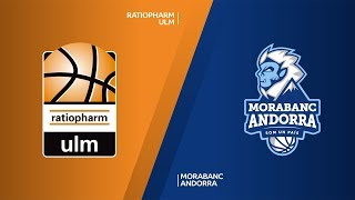 ratiopharm Ulm - MoraBanc Andorra Highlights | 7DAYS EuroCup, RS Round 7