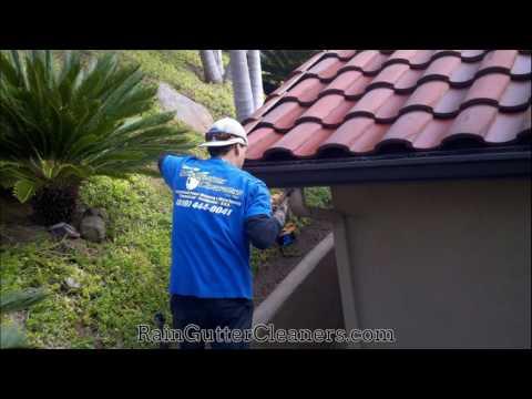 Rain Gutter Cleaning Rancho Santa Fe