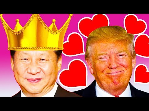 """Trump Loves """"The King Of China"""""""