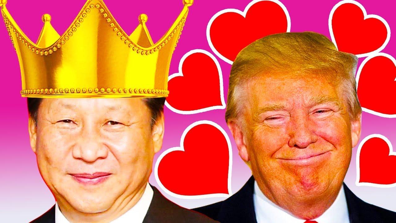 「xi and trump love」的圖片搜尋結果