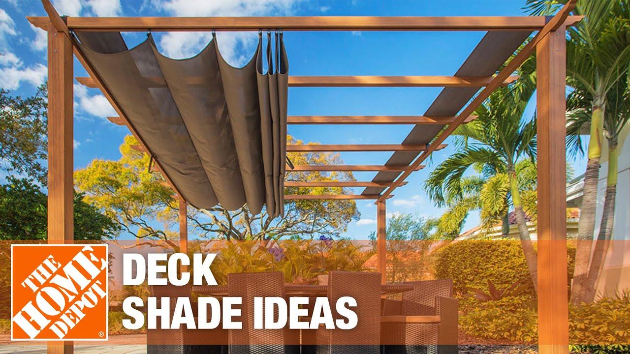 deck shade ideas the home depot