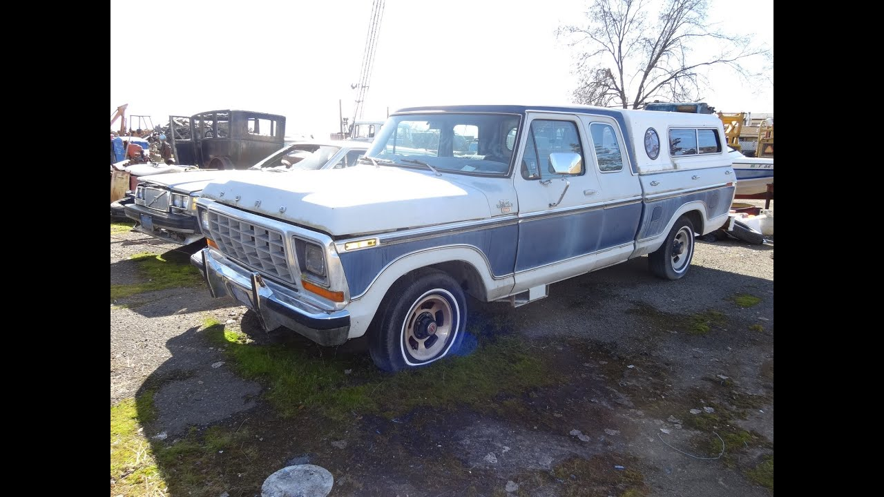 Ford f 100 ranger xlt f series supercab pickup truck gt mags 1978 extended cab for sale youtube