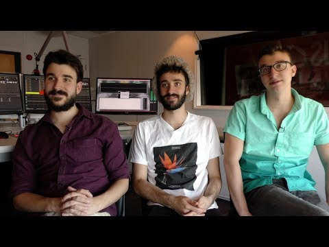 AJR Interview - Adam, Jack, And Ryan (part 1)