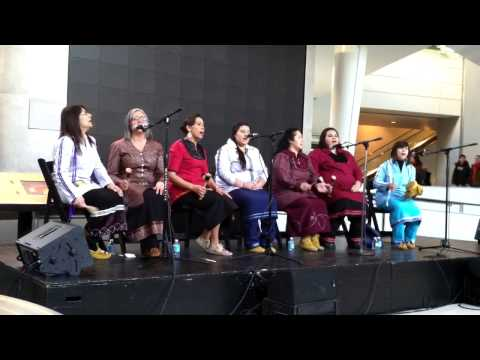 Mohawk Nation Singers Take Part in Lunar New Year Celebration