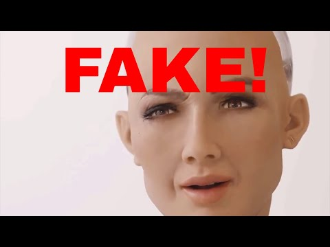 Hanson Robotics Sophia is a Fake!